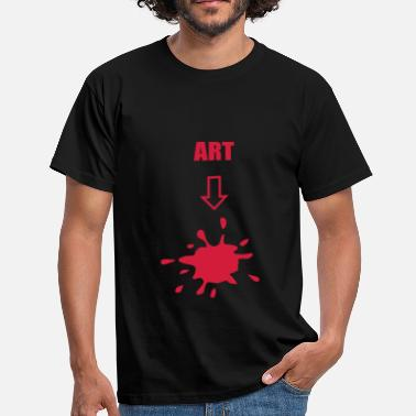 Artful Art, arts - Men's T-Shirt