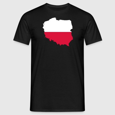 Poland eagle polska - Men's T-Shirt