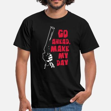 Dirty Harry make_my_day_1 - Men's T-Shirt