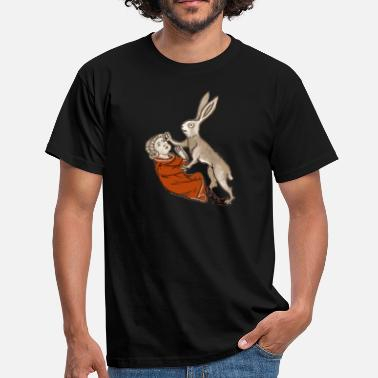 Manson Raped by a Rabbit  - Männer T-Shirt