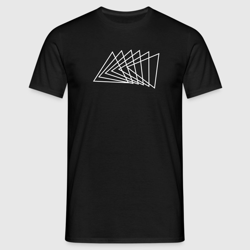 Triangle modern design - Men's T-Shirt