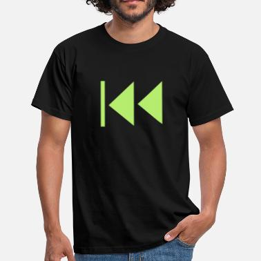 Sound Button Rewind Button - Men's T-Shirt