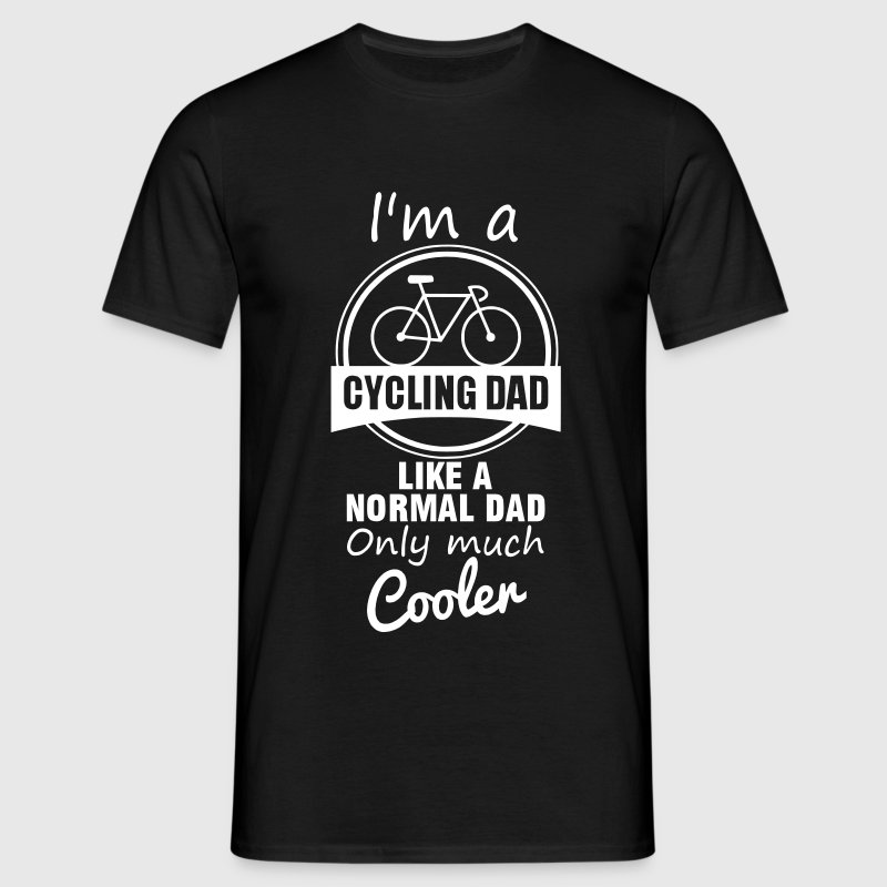Cycling Dad  - Männer T-Shirt