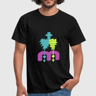 Abstract figure #ITB - T-shirt Homme