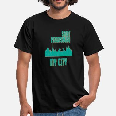 Saint Petersburg Saint Petersburg MY CITY - Men's T-Shirt
