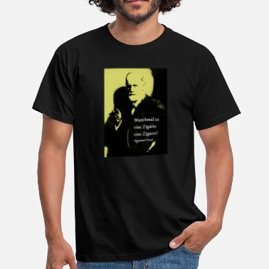Freud Freud citation fumeur de cigare - T-shirt Homme