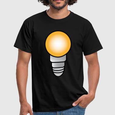 Light On, Elpære - Herre-T-shirt