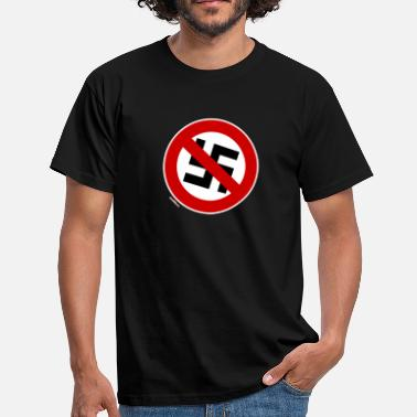 Anti Nazi no nazis - Men's T-Shirt