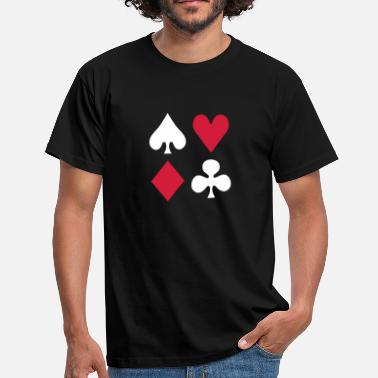 Solitaire Poker - Men's T-Shirt