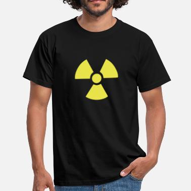 Radiation Radioactive Symbol - Men's T-Shirt