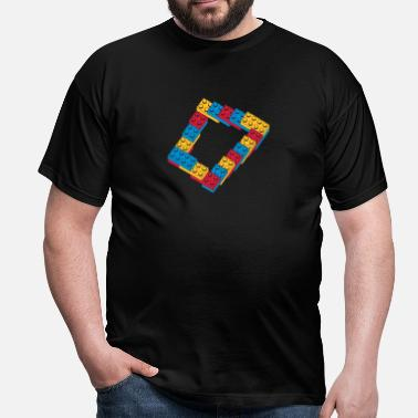 Job optical illusion - endless steps - Men's T-Shirt
