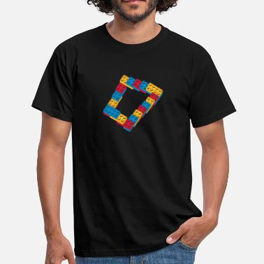 Programmemer optical illusion - endless steps - Men's T-Shirt