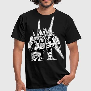 bomb this world with music 2 - Männer T-Shirt