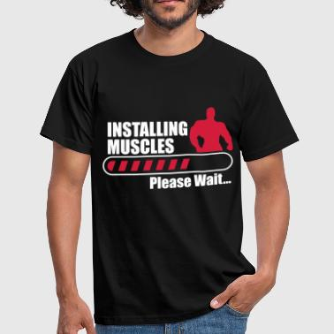 crossfit Installing Muscles  - Camiseta hombre