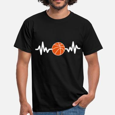 Basket Ball basket basketball is life - Men's T-Shirt