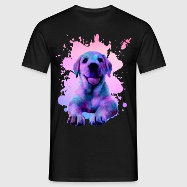 Golden Retriever - Men's T-Shirt