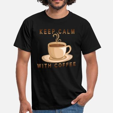 Keep Clam keep clam coffee - Men's T-Shirt