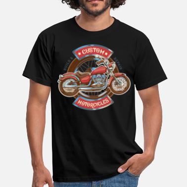 Custom Motorcycles - Men's T-Shirt
