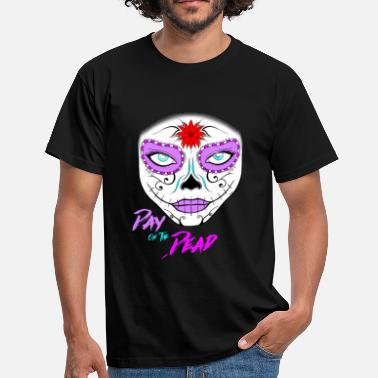 Days Of The Week Day of the Dead Sugar Skull NEW! - Männer T-Shirt