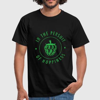 Brewsmeister Pursuit Of Hoppiness - Craft Beer IPA Ale Gift - Men's T-Shirt