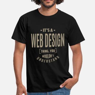 Webcomic Web Design Thing - T-shirt Homme