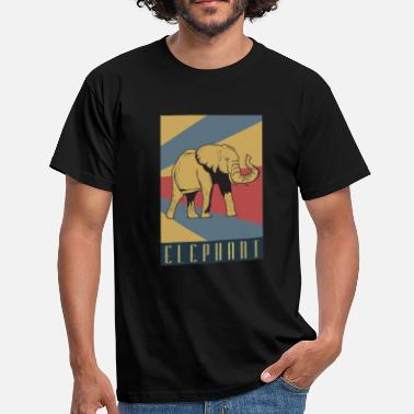 Elephant animal rights conservation gift idea - Men's T-Shirt