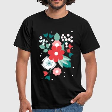 flowers, summer, flowers, spring, design - Men's T-Shirt