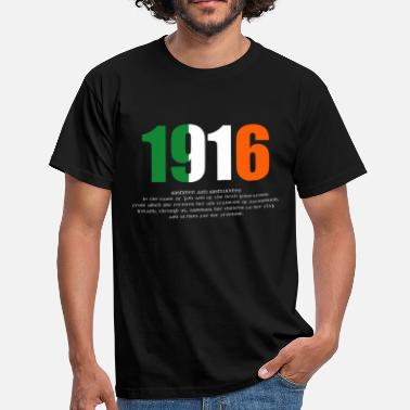 Easter 1916 Easter Rising and Proclamation Mens T-shirt - Men's T-Shirt