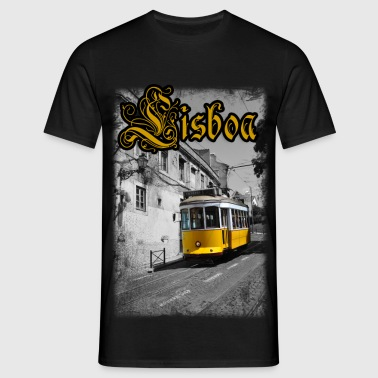 Lisboa Tram - Men's T-Shirt