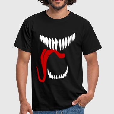ALIEN MOUTH - Men's T-Shirt