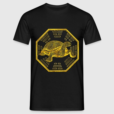 Golden Tortoise / Turtle  Feng Shui - Men's T-Shirt