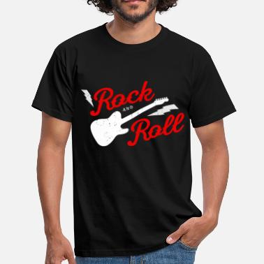 Rock And Roll Rock and Roll - T-shirt herr