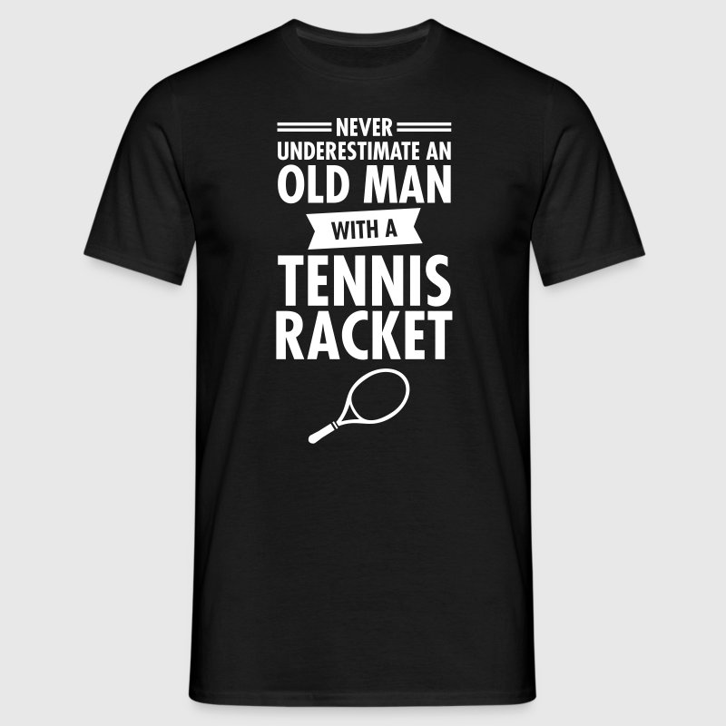 Old Man - Tennis - Men's T-Shirt