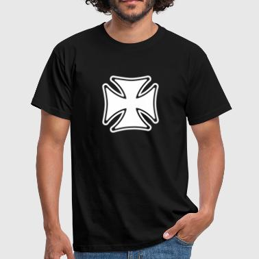 iron cross - Mannen T-shirt