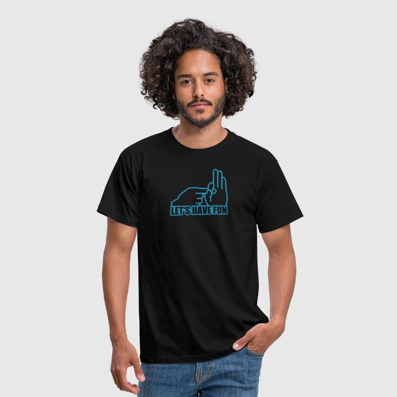 let's have fun - Männer T-Shirt