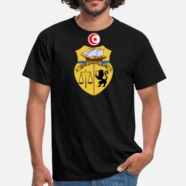 Tunisia Tunisia Coat of Arms - Men's T-Shirt