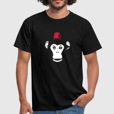 monkey hat - T-shirt Homme