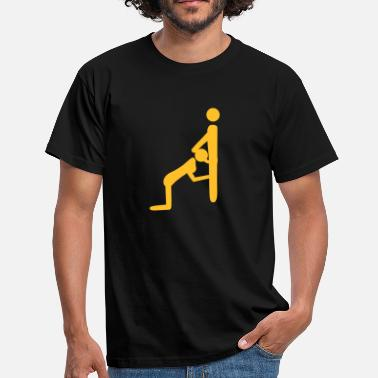 Sex Stick Stick People Oral Sex - Men's T-Shirt