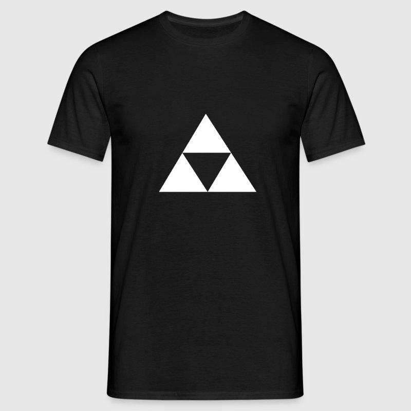 Triforce Blanche - Men's T-Shirt