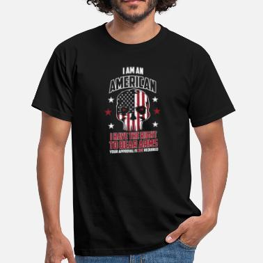 2nd Amendment American pride Humor bear arms 2nd amendment - Männer T-Shirt