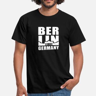 Berlin Germany Brandenburger Tor BERLIN GERMANY Brandenburger Tor UNI - Männer T-Shirt