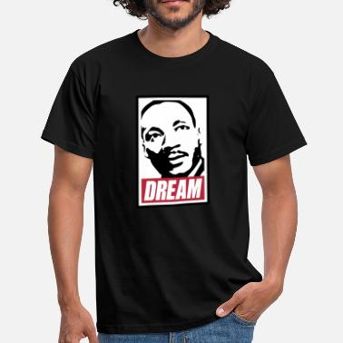 Luther Obey x Dream MLK - Männer T-Shirt