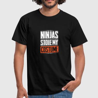 Ninjas a volé mon costume Halloween Fighter Lover - T-shirt Homme