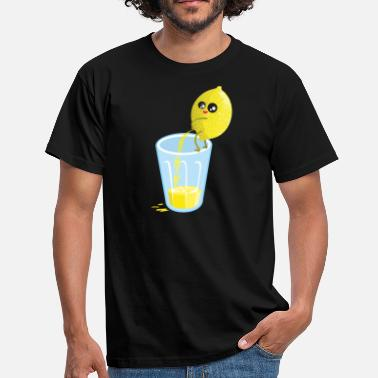 Divertidas Lemon pees lemonade - Camiseta hombre