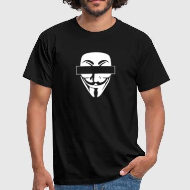 anonymous anonymous - Mannen T-shirt