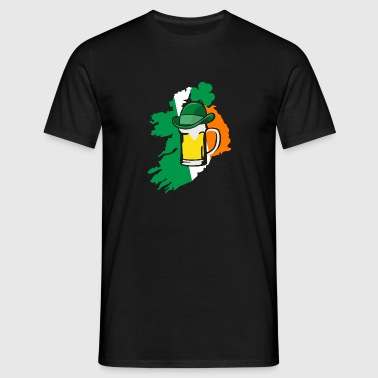 Irish beer - irisch - Mannen T-shirt