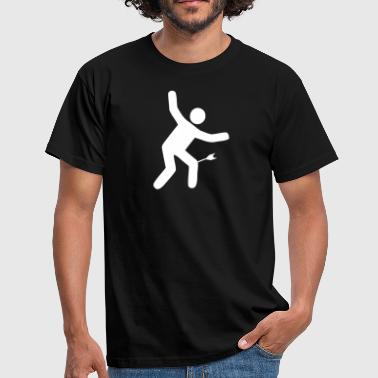 Arrow to the knee - Men's T-Shirt