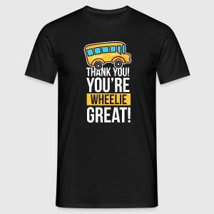 Bus Driver Thank You Wheelie Great Birthday Gift Idea Von