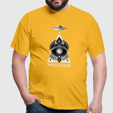 welcome - Men's T-Shirt