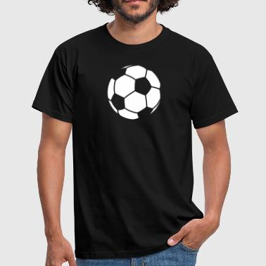 Boll football / ball for dark clothes - T-shirt Homme
